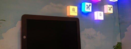 Backlight em Led personalizado